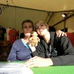 Rock Shop avec Clothilde ;)  (Pont du Rock 2013)