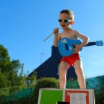 Arthur, 2 ans 1/2 en mai 2014... Tu feras quoi quand tu seras grand? :D