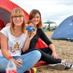 Public, camping (festival du Roi Arthur 2014)