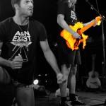 Au feu les pompiers, la guitare qui brûle... /Andréas et Nicolas (Echonova février 2015)