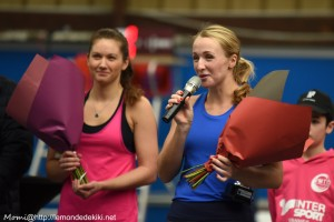 Marcinkevica et Honcova (Open de Vannes, février 2019)