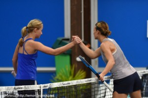 Marcinkevica et Brouleau (Open de Vannes, février 2019)