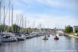 Arrivée au port de Vannes, la grande parade (semaine du golfe 2019)