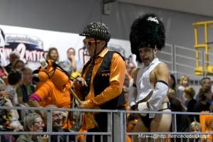 Le Crazy Horse Guard (Championnat du Monde de Cheval à 2 Pattes 2019)