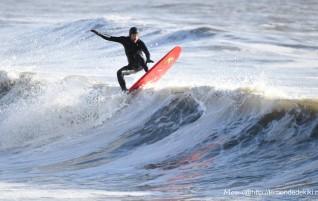 Une session surf de décembre dans un petit coin d'paradis