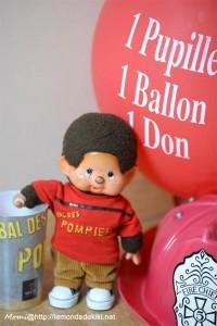 Tout l'attirail pour un bal des pompiers parfait!
