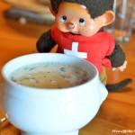 La soupe du chalet, juste un régal! (Suisse, février 2016)