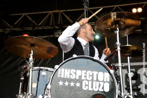 The Inspector Cluzo (Festival au Pont du Rock 2016, samedi)