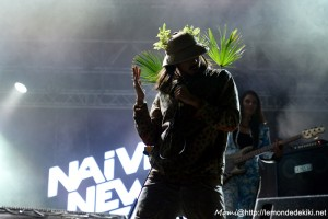 Naive New Beaters (Festival au Pont du Rock 2016, samedi)
