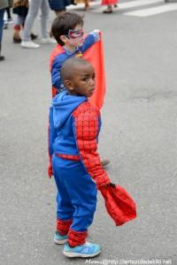 Rencontre de super-héros (carnaval de Ménimur 2018, Vannes)