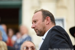 David Robo, maire de Vannes (fêtes d'Arvor 2018)