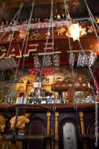 Le café du coin d'en bas de la rue du bout de la ville d'en face du port, la Java (St Malo, vacances de printemps 2019)