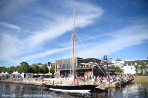 Pen-Duick, port de Vannes, la grande parade (semaine du golfe 2019)