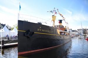 L'Hydrograaf, port de Vannes (semaine du golfe 2019)