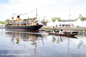Parade des bateaux vénitiens, port de Vannes (semaine du golfe 2019)