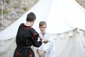 Pontivy escrime (les fêtes historiques de Vannes, 2019)